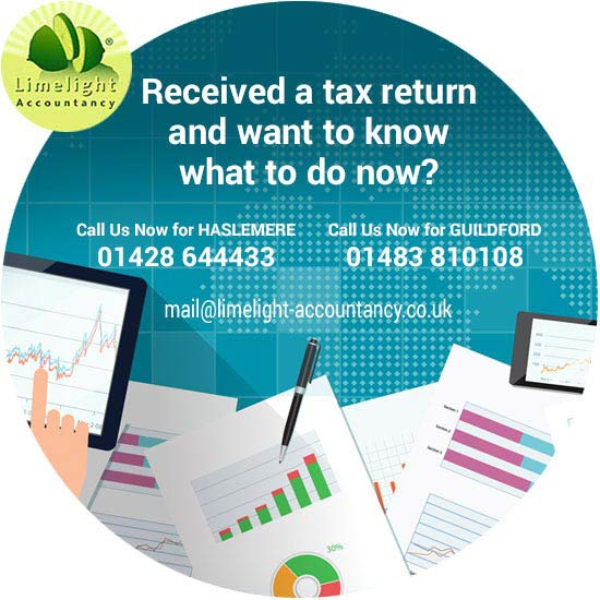 Received a tax return?
