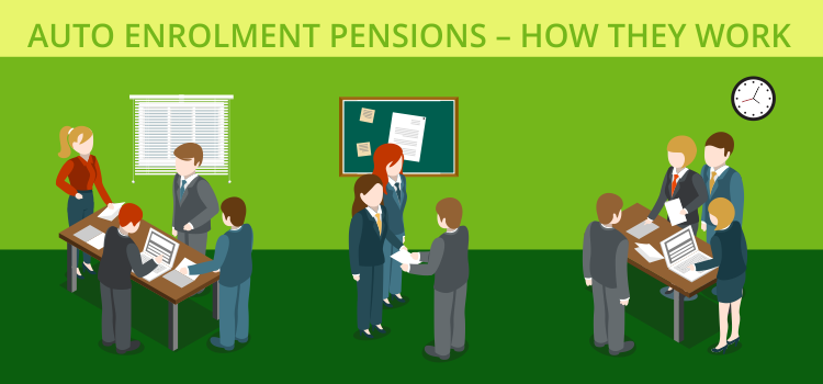 Auto enrollment pensions – how they work
