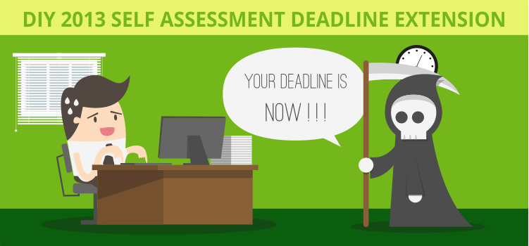 DIY 2013 Self Assessment Deadline Extension