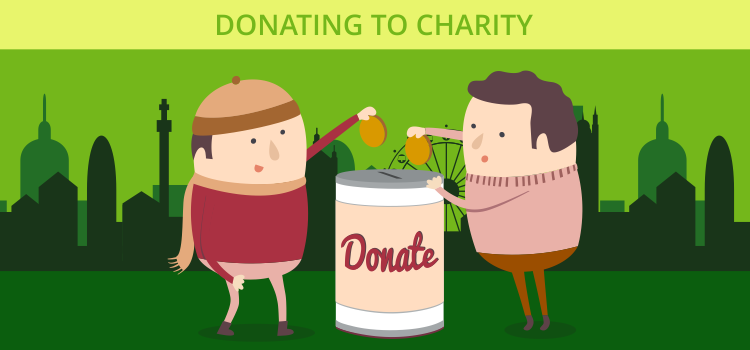 Donating to Charity