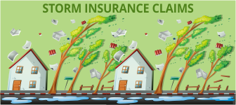Storm insurance claims